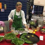 A cooking demo from MB teacher Heather Priest.
