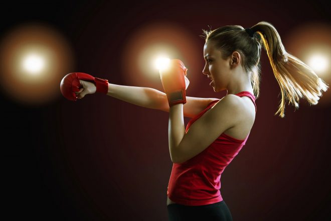 Trackside Offers Middle School Girls' Self-Defense Class