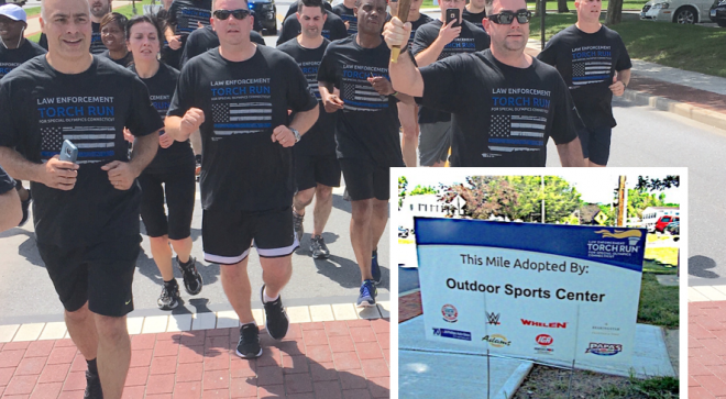 Keep Flame of Hope Alive, and Sponsor Wilton Police Torch Run