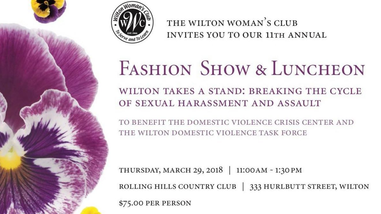 WIN a FREE Ticket to the Wilton Woman's Club Fashion Show & Luncheon!