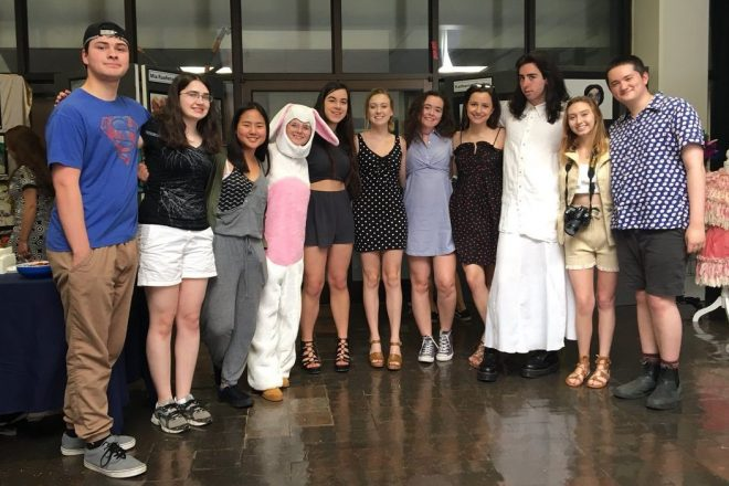 WHS Honors Students at 2018 Fine and Performing Arts Awards