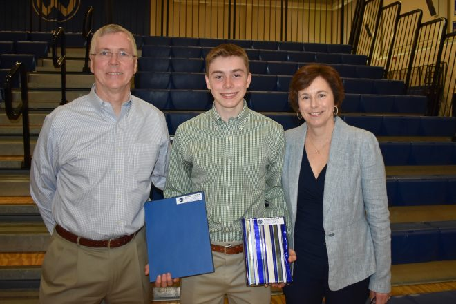 Academic Awards Presented to WHS Students at 2018 Ceremony