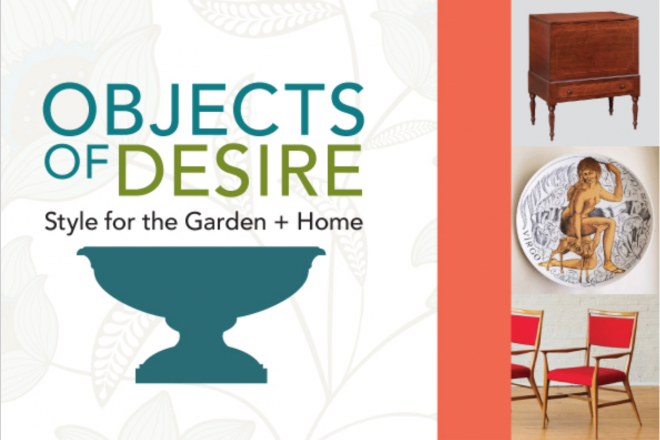"""Style–and Foodie Fun–this Weekend at """"Objects of Desire"""" Home & Garden Show"""