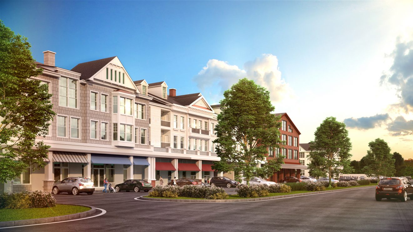 Developer Files Plans for Mixed Retail/Residential 'Wilton Heights' at Rts. 7/33
