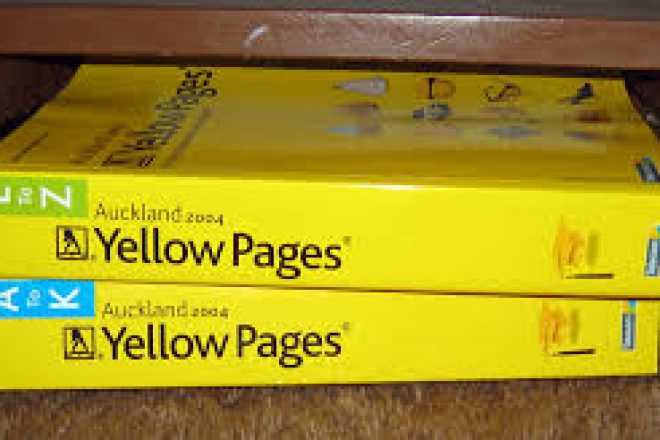 Residents Can Opt Out of Yellow Pages Delivery
