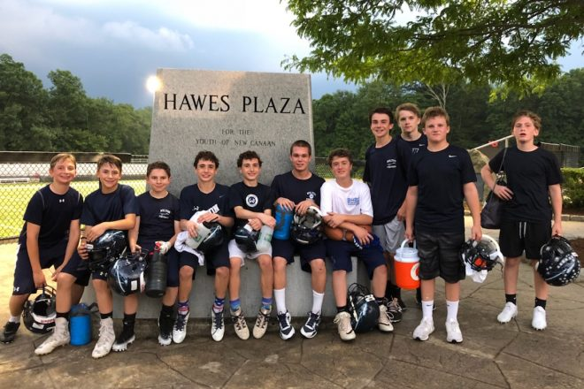 Wilton's Rising 8th Grade Football Team Returns as 2018 FCFL 7-on-7 Tournament Champs