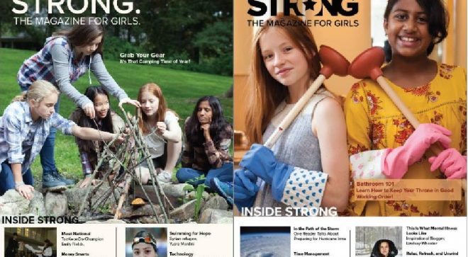 STRONG Magazine for Girls Offers Free Summer Reading Special