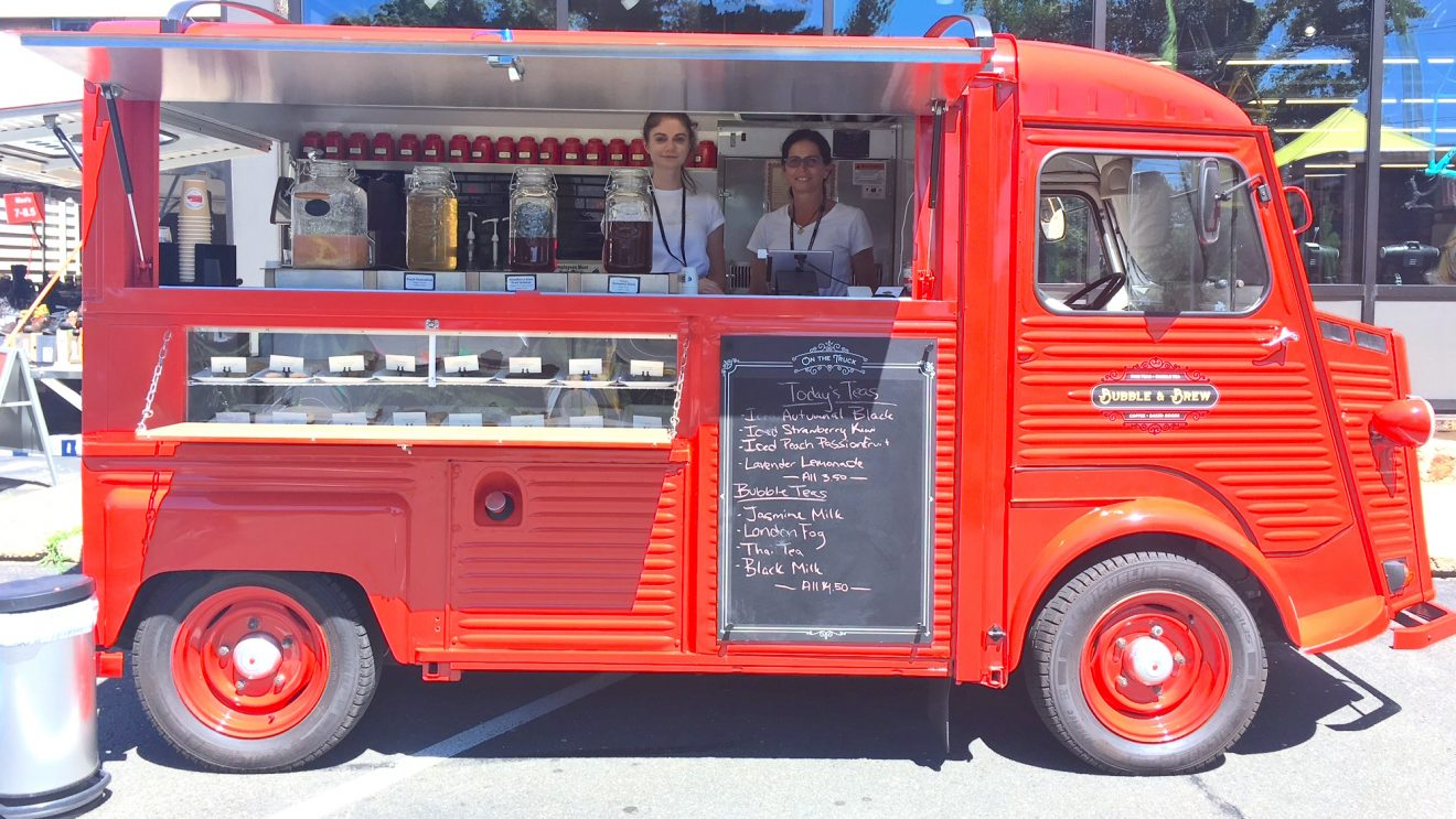 """That's Food Truck with a Capital """"Tea"""""""