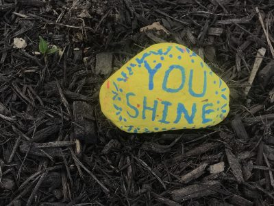 Girl Scouts - You Shine Kindness Rock