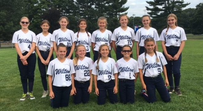 11U Wilton Softball Moves Forward in State Tourney, with Coach & Fan Support