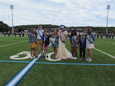 Homecoming Court Homecoming 2018_0905 Delia Froelich Zach Dedrick Jack Costello brother Thomas Kimmy Castano Flynn Crowther Yanny Garcia in for Dean Dinnano Katie Stevenson
