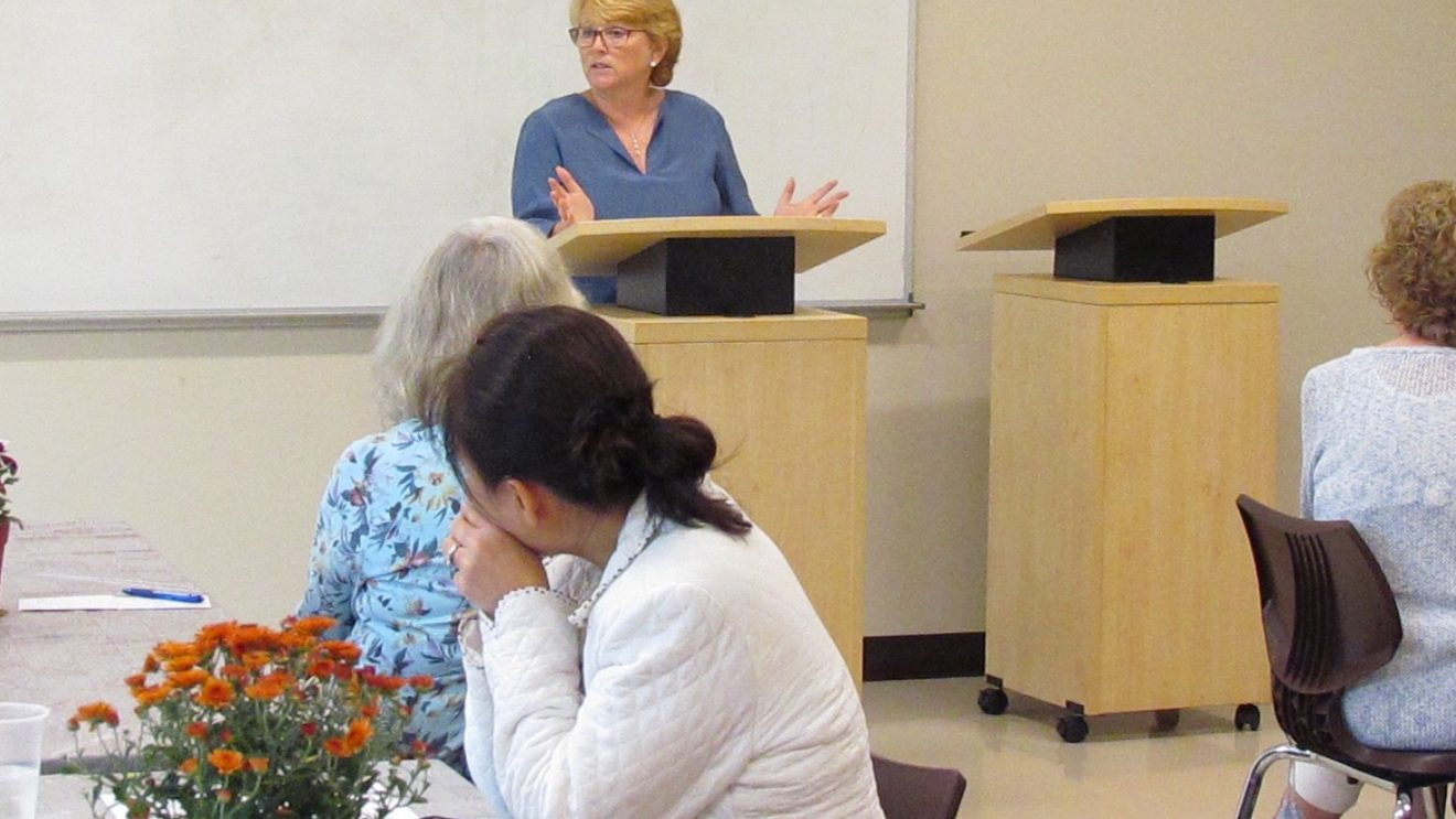 Latest from Town Hall:  1st Sel. Briefs LWV on 'Everything'