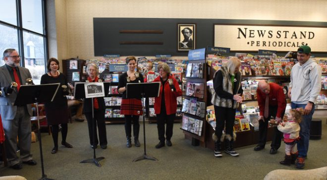 Holiday Handbells at Barnes & Noble