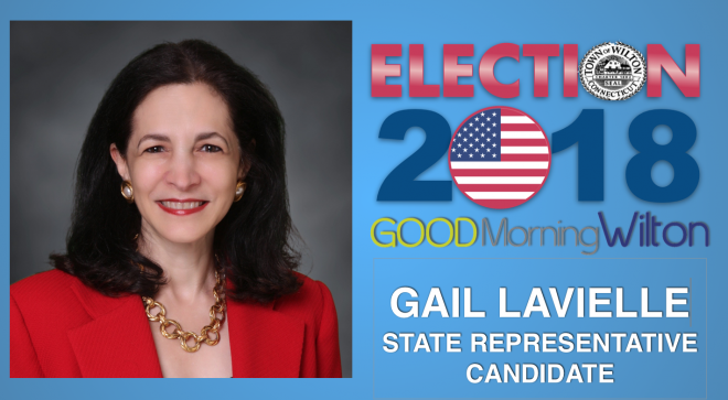 "Election2018 Candidate OP-ED:  Gail Lavielle, State Rep.–""Fighting for Your Future in CT:  It's a Matter of Respect"""