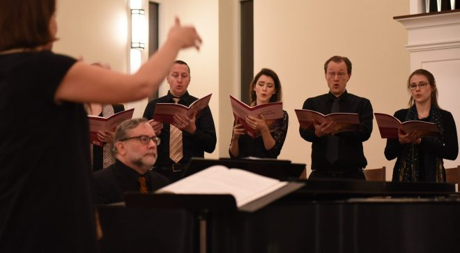 Music in Nature:  Music on the Hill Chamber Chorus