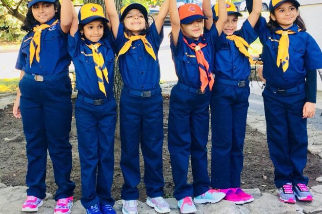 Wilton's First All-Girl Boy Scouts