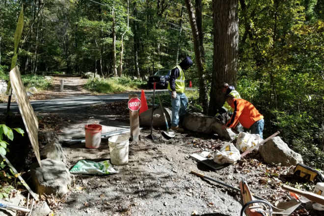 Norwalk River Valley Trail Washout Damage Repaired After Heavy Downpours