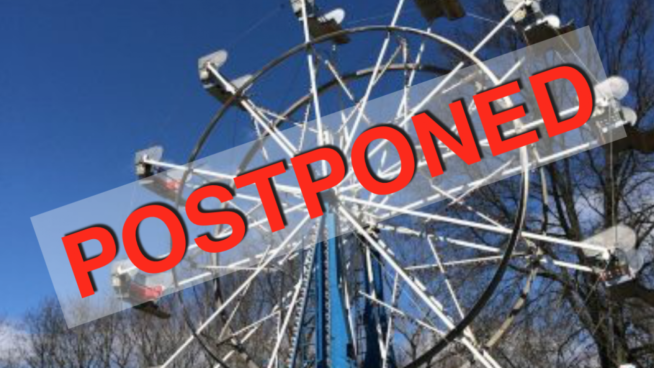 Miller-Driscoll Carnival Postponed–Rain-Soaked Field Made Ride Operation Unsafe