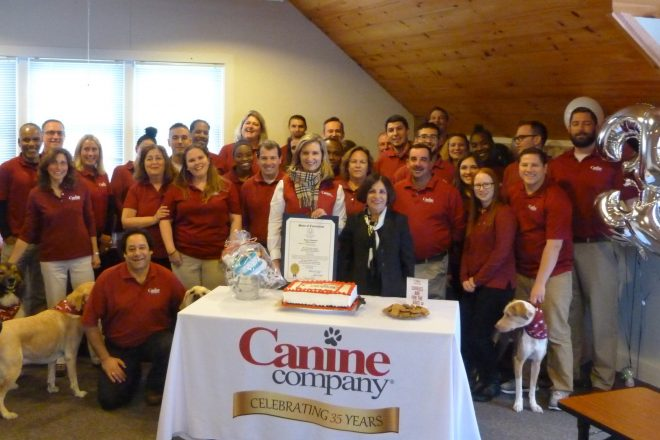 Wilton's Canine Company Celebrates 245 Dog Years (35 Years) in Business