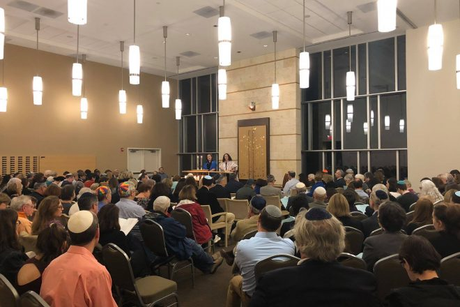 Community Support for Wilton Synagogue Reflects Freedom and Democracy of Election Day [PHOTOS]