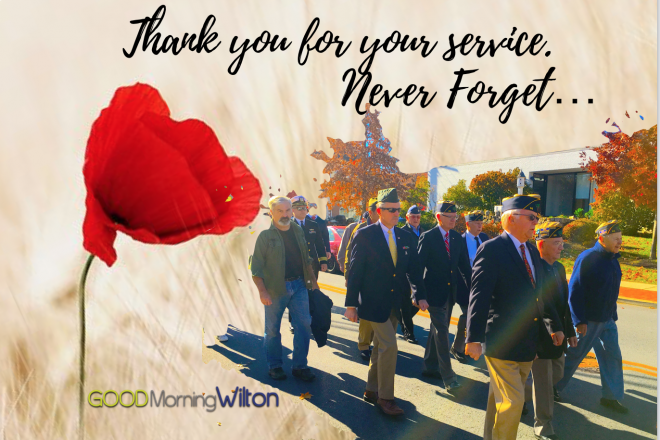 To all those who served…