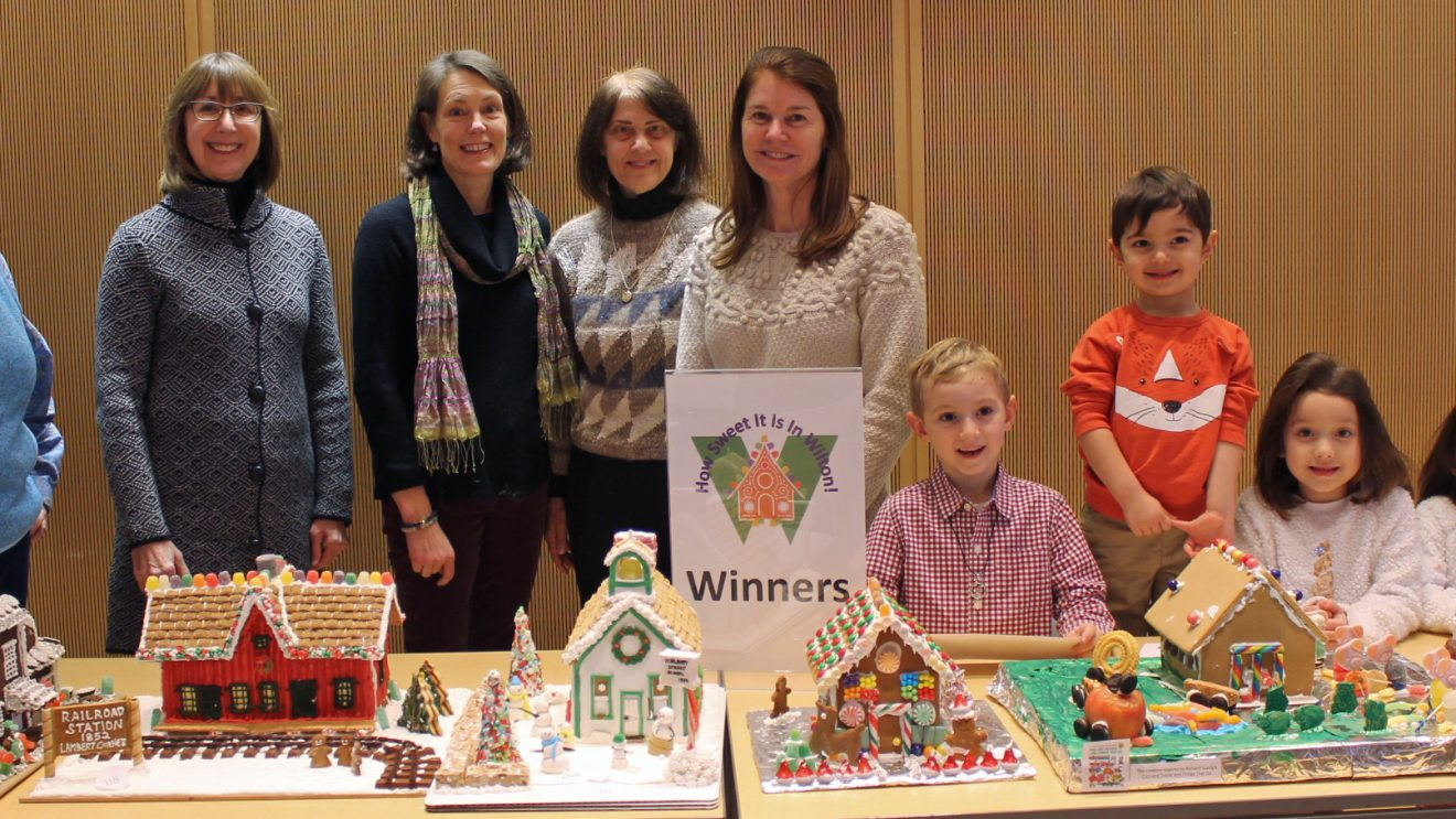 How Sweet It Is in Wilton:  Library & Chamber Sponsor Gingerbread House Contest