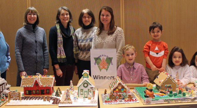 How Sweet It Is in Wilton Gingerbread House Contest