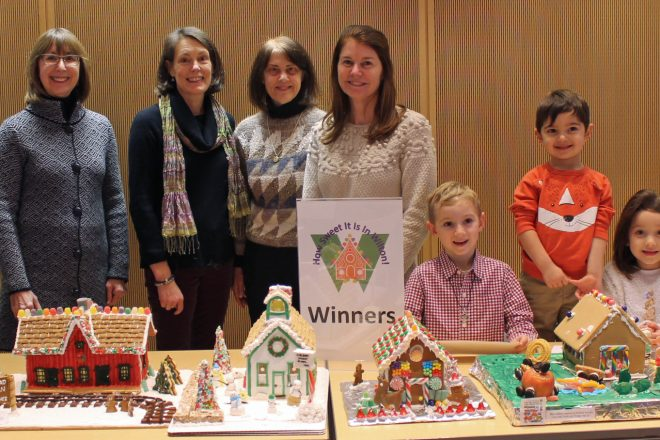 Wilton Library Announces Winners of Gingerbread House Contest