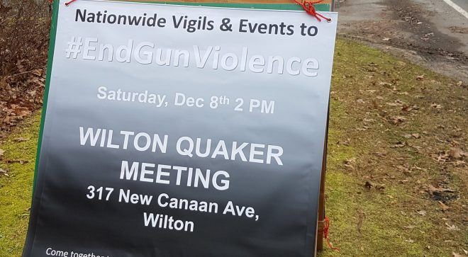 Memorial Vigil to End Gun Violence Scheduled for Wilton
