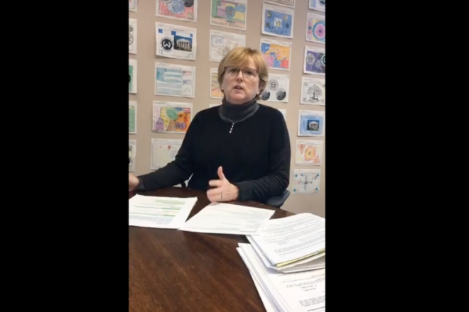 LIVE Interview with First Selectwoman Lynne Vanderslice–Goals, 2020 Budget & Re-Election