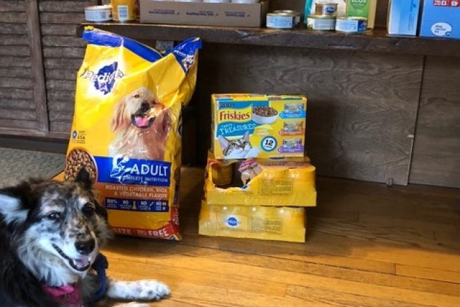 Passage East Kennels Running Pet Food & Supply Drive for PAWS No-Kill Shelter
