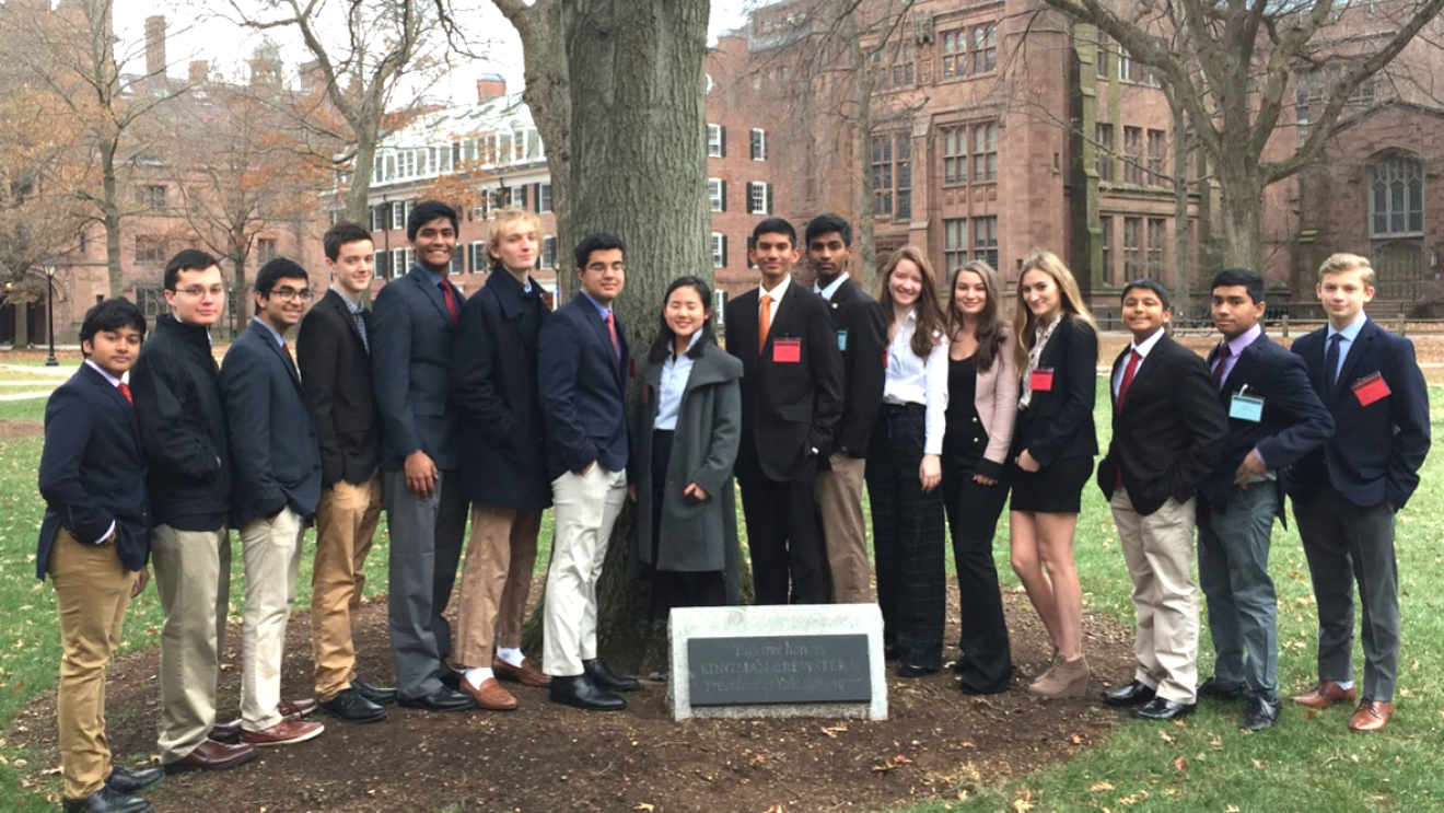 Wilton Model Congress Wins Awards at Yale