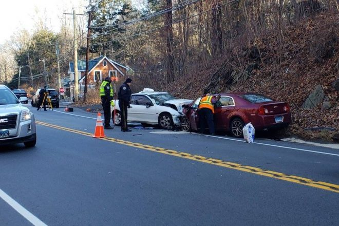 UPDATE:  Drivers with 'Life Threatening Injuries' in A.M. Collision, Wilton Police Seek Witnesses