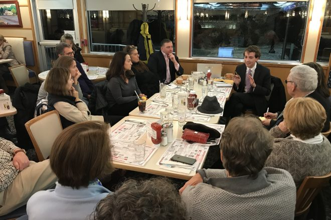 Over Constituent Coffee, Haskell Reiterates:  'I won't be voting for anything like SB 454'