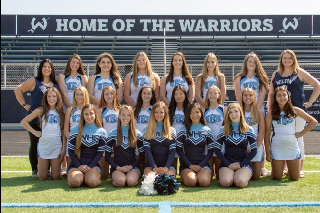 Gimme a W–I–L–T–O–N!  WHS Hosts FCIAC Cheer Competition
