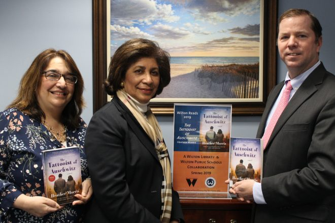 Library and School District Receive Award for 2019 Wilton Reads Program