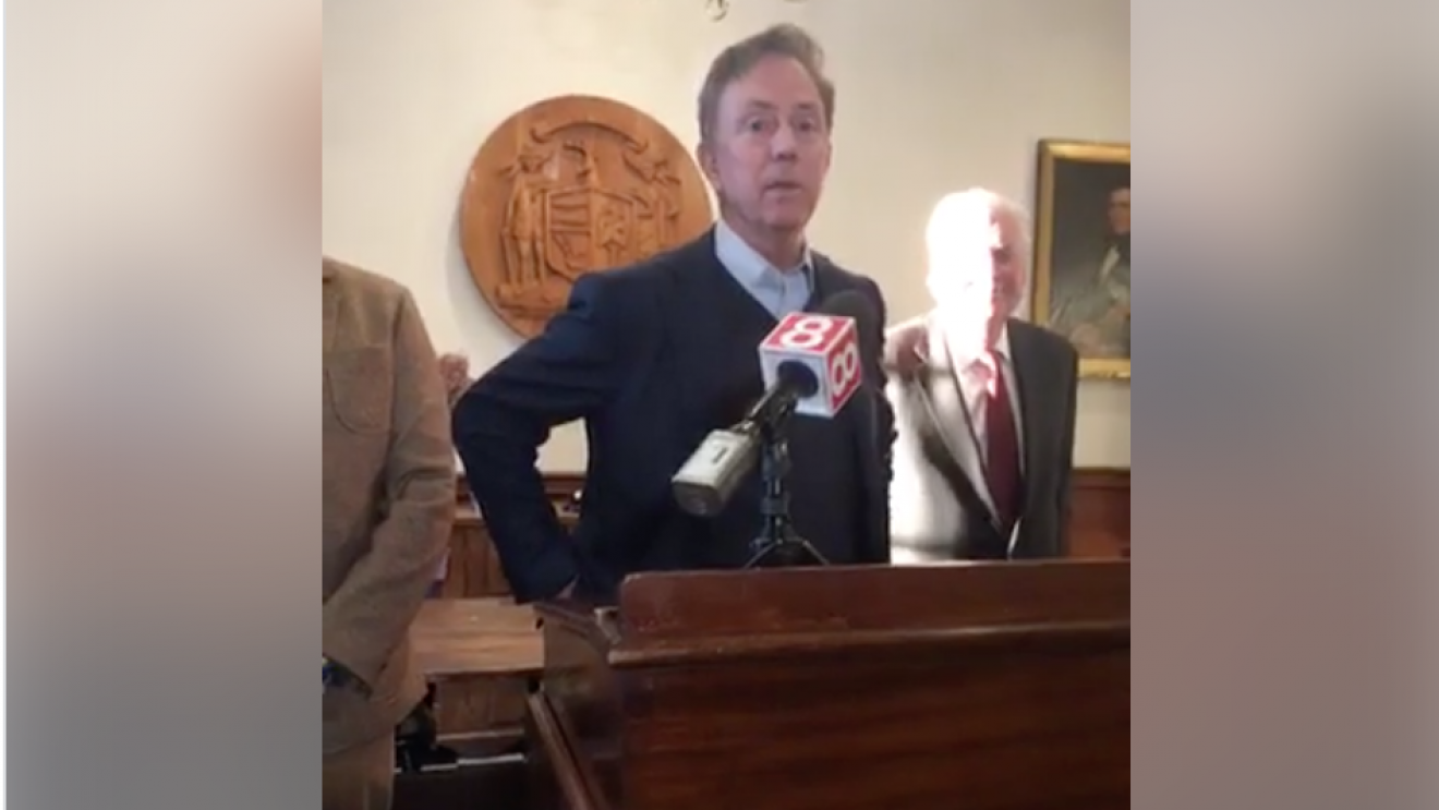 Lamont Promises:  I Won't Force Wilton to Give Up Control of Schools [VIDEO]
