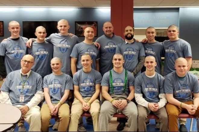 St. Baldricks Fundraiser Takes a (Hair)Cut Out of Cancer [PHOTOS]