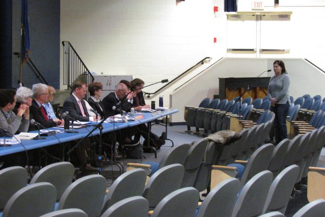 BOF Holds Public Hearing on School Budget–and Only 20 Residents Show Up