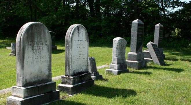 """""""Spirits of the Past"""" at Historic Sharp Hill Cemetery"""
