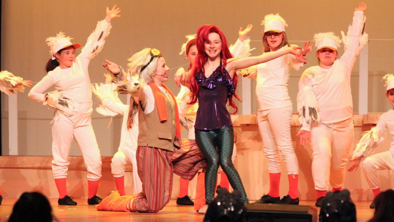 """Wilton Children's Theater's """"The Little Mermaid"""" Swims Ashore This Weekend"""