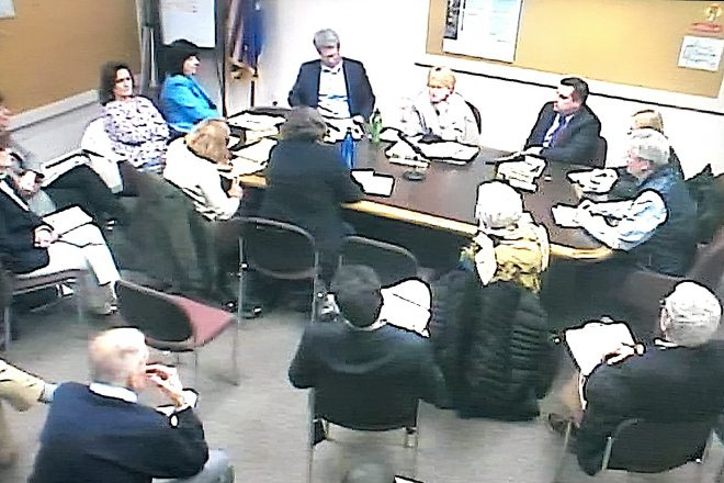 """Town's Three Boards Meet to Discuss """"What Ifs"""" of Possible Budget Storm & Taxes"""