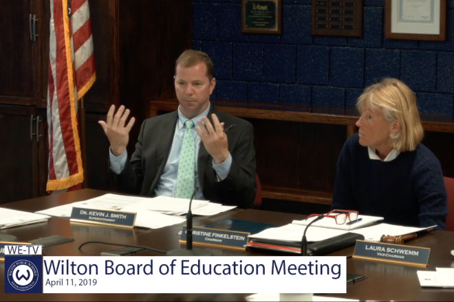 Bd. of Ed.:   No Decisions Yet on Where to Cut $1.1MM–Let's 'Clear Up Misreported Claims' First
