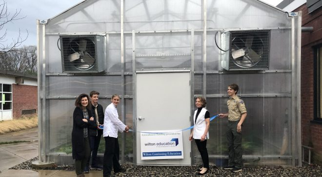 WEF and Continuing Ed Celebrate Earth Day with Middlebrook Greenhouse Ribbon Cutting