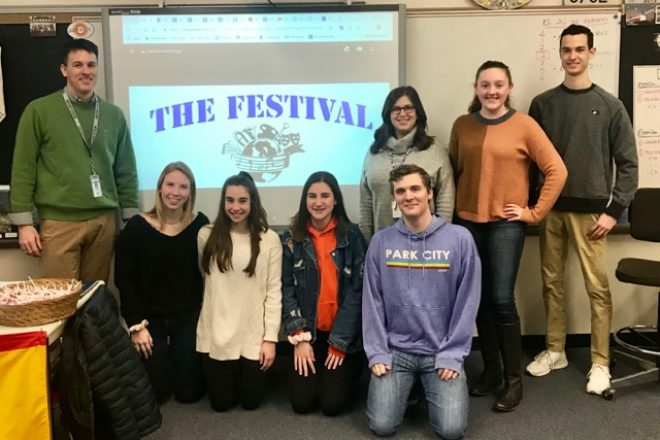 WHS Departments of Art, Music, and World Languages Host 'The Festival'