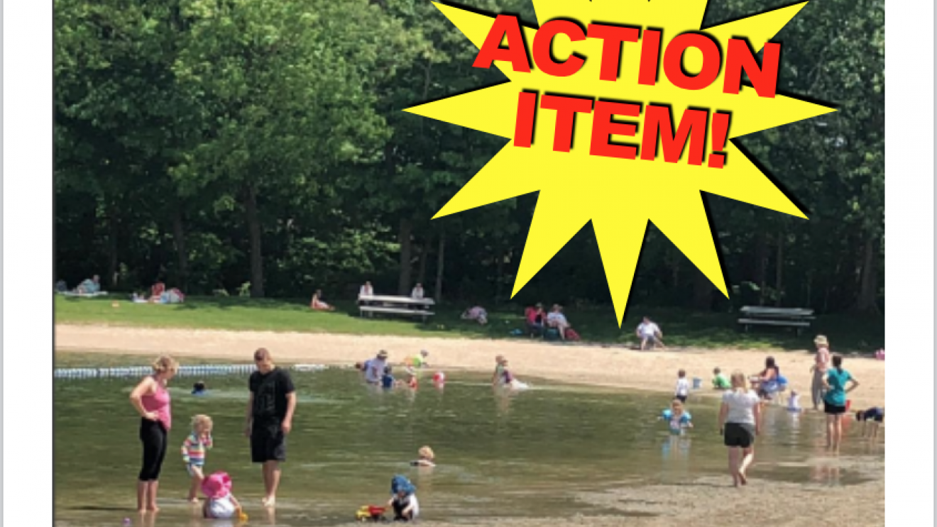 ACTION:  Give Your Opinion on Plans for Schenck's Island and Merwin Meadows