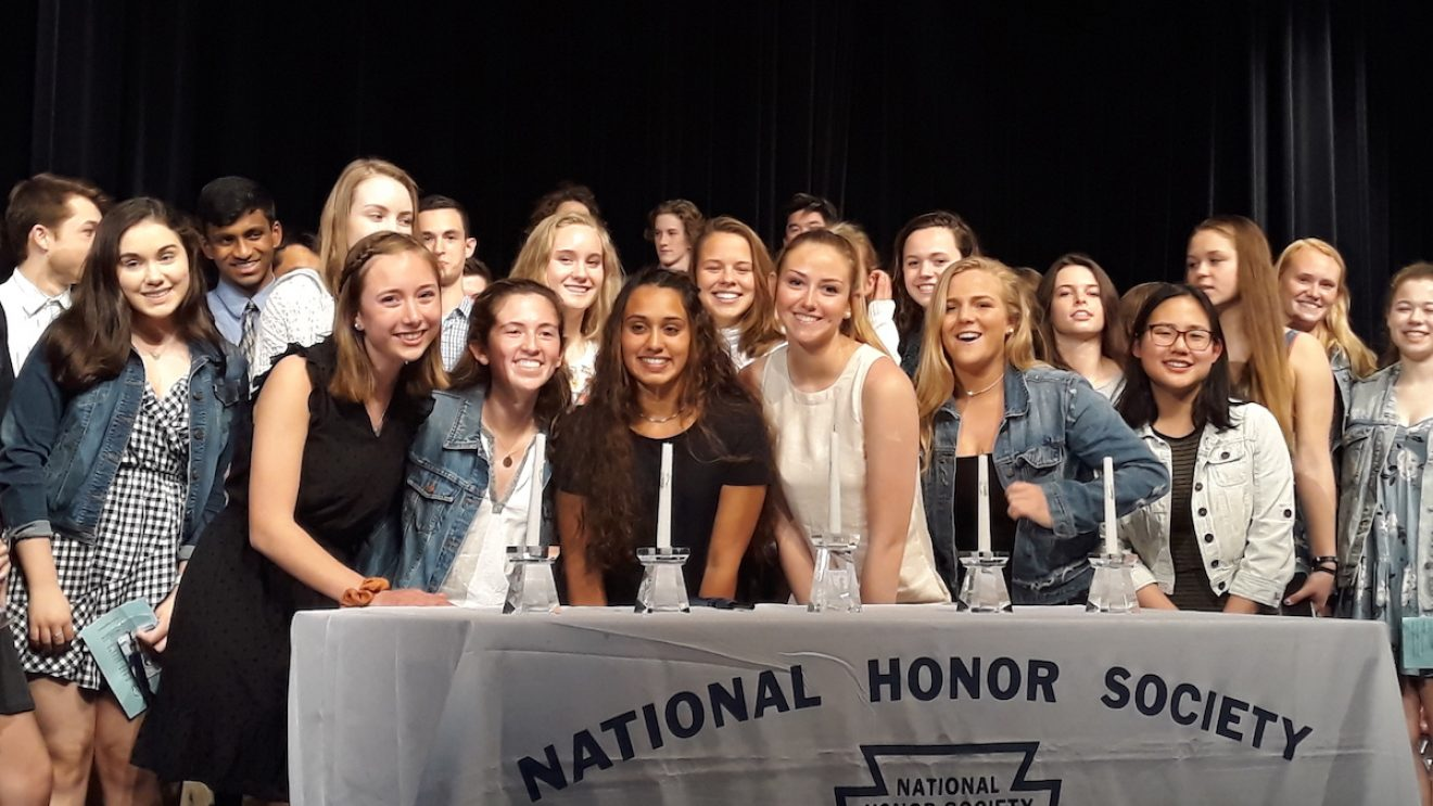 Wilton High School Inducts Spring National Honor Society Members