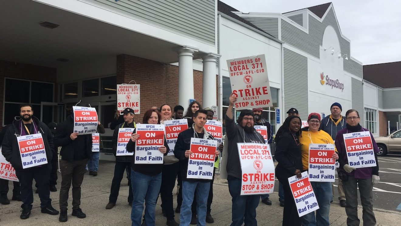 Police Arrest One for Breach of Peace at Wilton Stop & Shop Strike