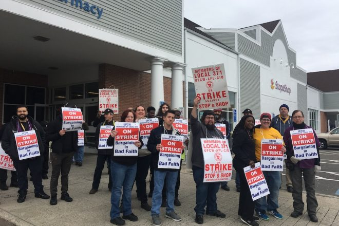 BREAKING NEWS:  Wilton Stop & Shop Employees Join Statewide Strike