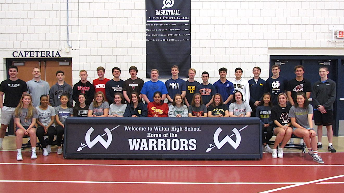 34 WHS Scholar Athletes Commit to College Sports Teams